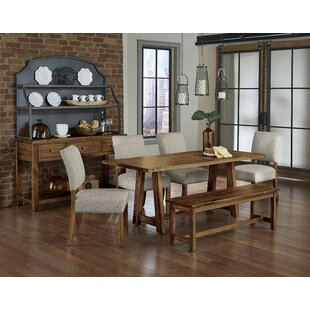 Rader 6 Piece Solid Wood Dining Set Gracie Oaks