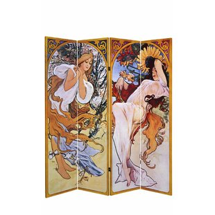 Bloomsbury Market Sarno 4 Panel Room Divider