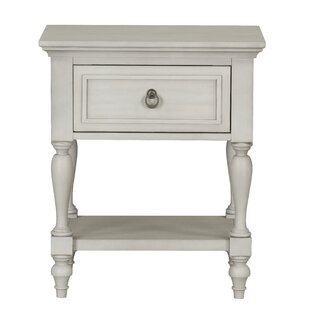 Bainville 1 Drawer Nightstand by Ophelia & Co.