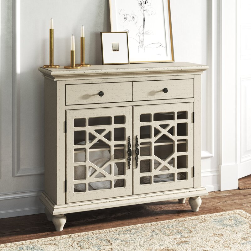 Lucille 2 Door Cabinet by Kelly Clarkson Home