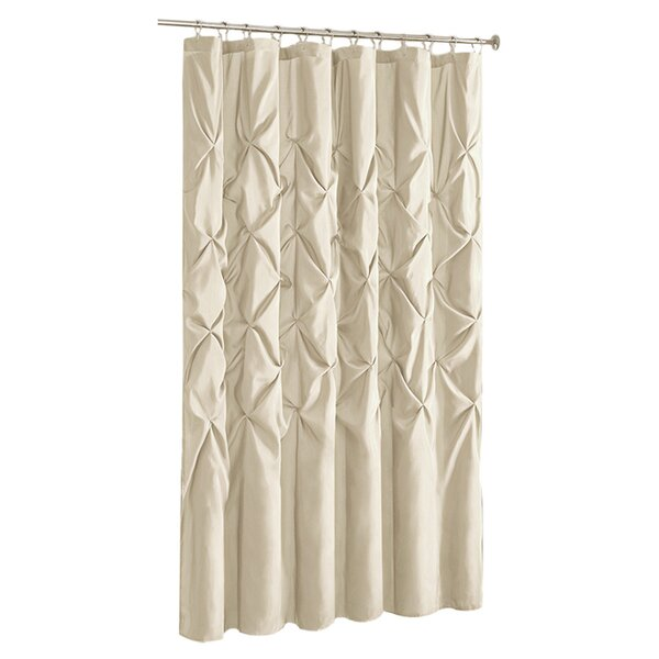 Blue Gray Silver Shower Curtains