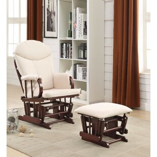 Secaucus 2 Piece Glider and Ottoman by Harriet Bee