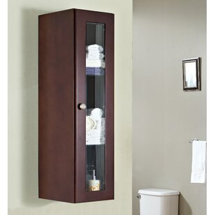 Haakenson Traditional Birch Wood-Veneer 11.75 W x 47.75 H Wall Mounted Cabinet by Red Barrel Studio