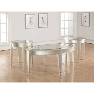 Everly Quinn Sinclair 3 Piece Coffee Table Set