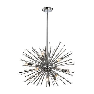 Willa Arlo Interiors Elinore 12-Light Sputnik Chandelier