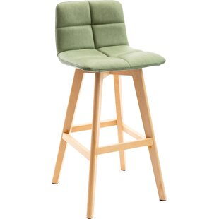 Ketilelf 74cm Bar Stool (Set Of 2) By Ebern Designs