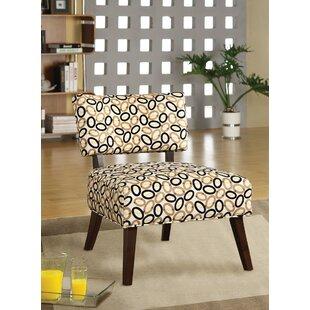 Ebern Designs Gruber Slipper Chair