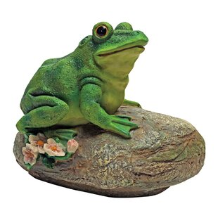 Charmant Thurston The Frog Garden Rock Sitting Toad Statue