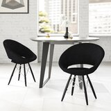 Janeen Tower Upholstered Dining Chair by Ivy Bronx
