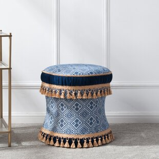 Order DeWitt Decorative Vanity Stool By World Menagerie