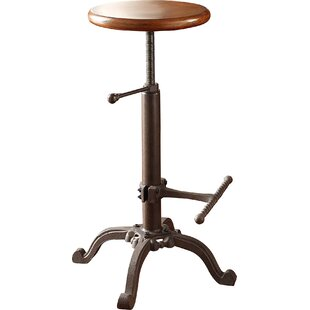 Adjustable Height Swivel Bar Stool Carolina Cottage
