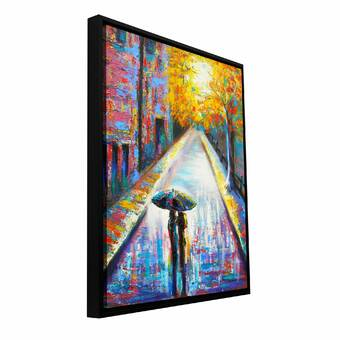 Mercer41 Lady By Susi Franco Painting Print On Rolled Canvas Reviews Wayfair