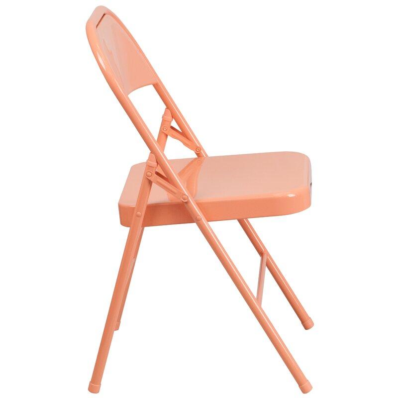 Hercules Colorburst Folding Chair
