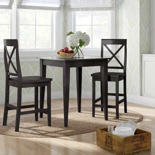 Pershore 3 Piece Pub Table Set