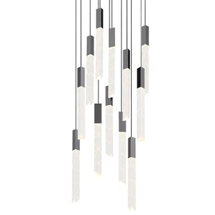 Trinity 12-Light Pendant b..