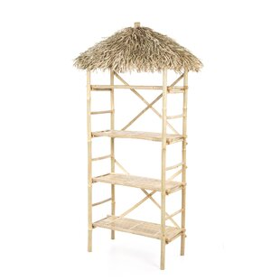 Bay Isle Home Porter 4 Tier Shelf Etagere Bookcase