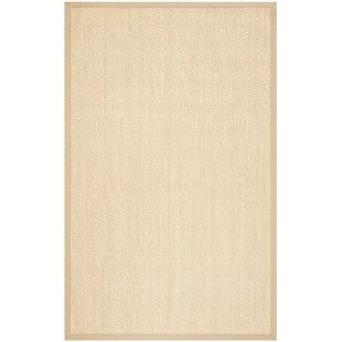Chaisson Ivory Area Rug by Rosecliff Heights