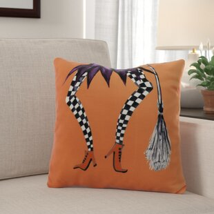 Maser Halloween Throw Pillow