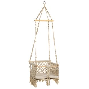 Centers Macrame Hanging Chair Image