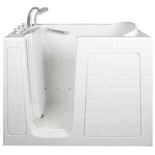 Ella Walk In Baths Low Threshold Air and Hydro Massage Whirlpool Walk-In Tub