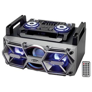 Bluetooth All-In-One Hi-Fi Music System with PA