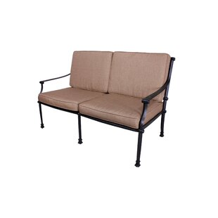 Elzada Deep Seating Loveseat with Sunbrella Cushions