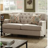Obrien Standard Loveseat by Canora Grey