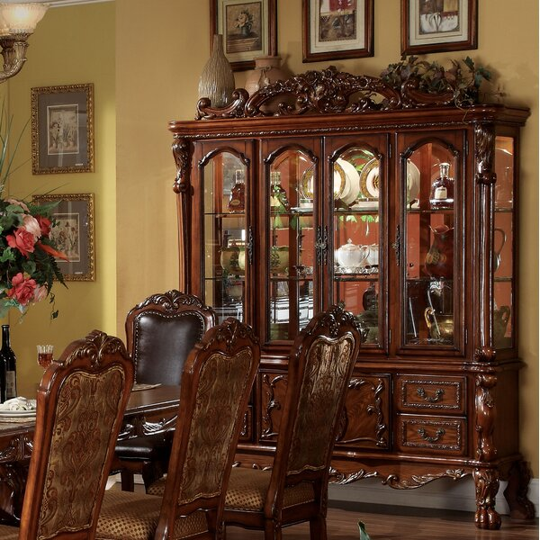 Magnificent Dining Room Table And Hutch Wayfair Download Free Architecture Designs Rallybritishbridgeorg