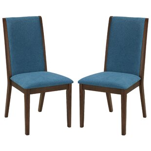 Port Morris Kendall Upholstered Dining Chair (Set of 2) by Charlton Home