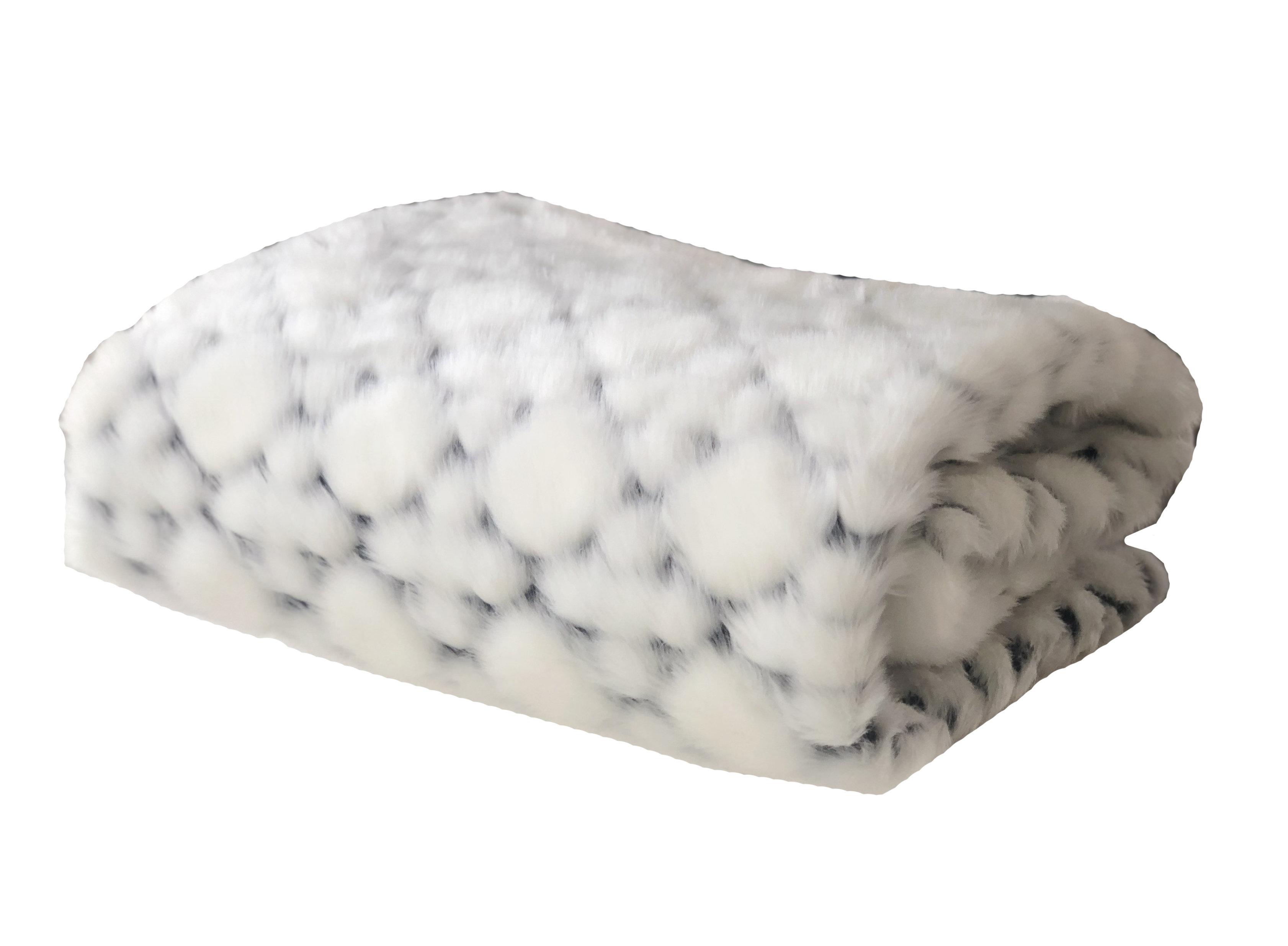 Everly Quinn Putnam Luxury Faux Fur Throw Wayfair