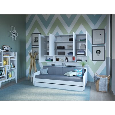 Pleasing Gautreau Compact Twin Murphy Bed Brayden Studio Color High Creativecarmelina Interior Chair Design Creativecarmelinacom