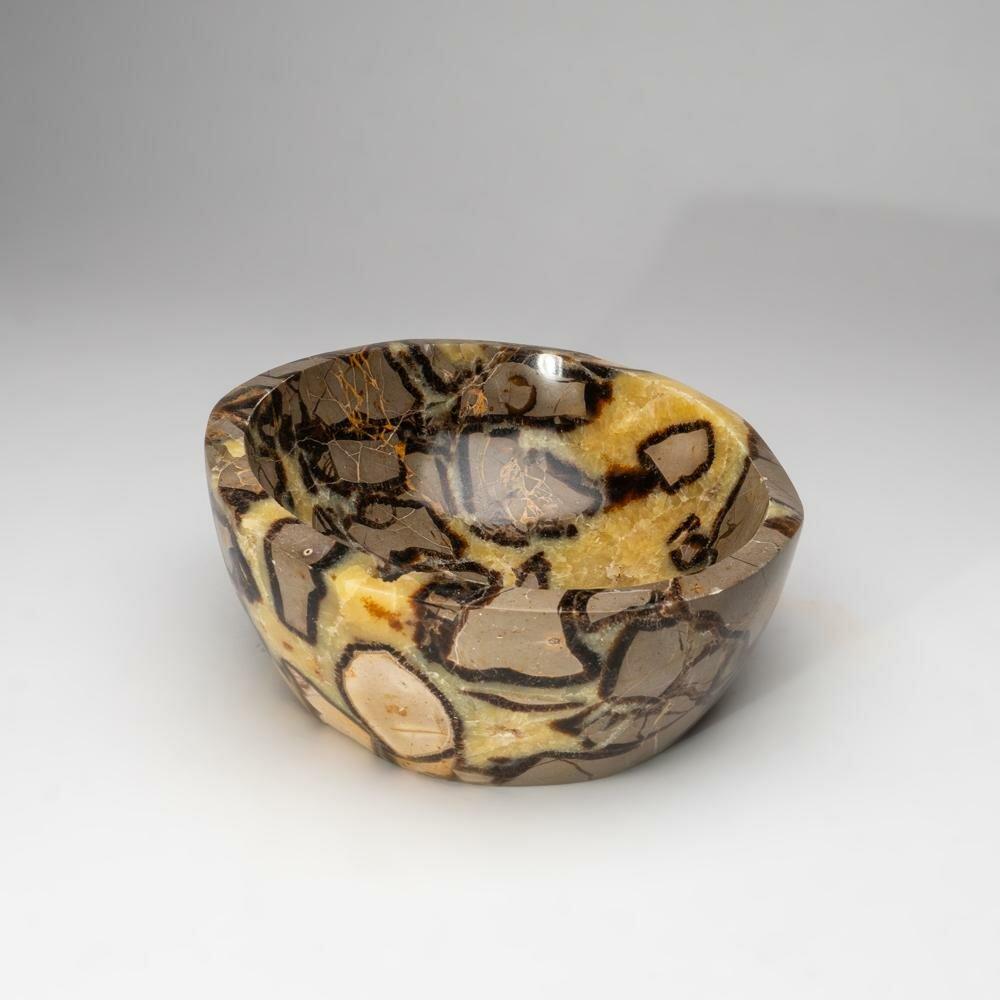 Astro Gallery Of Gems Gemstone Sleek Decorative Bowl In Yellow Brown Wayfair