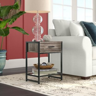 Best Deals Hammons End Table by Wrought Studio Reviews (2019) & Buyer's Guide