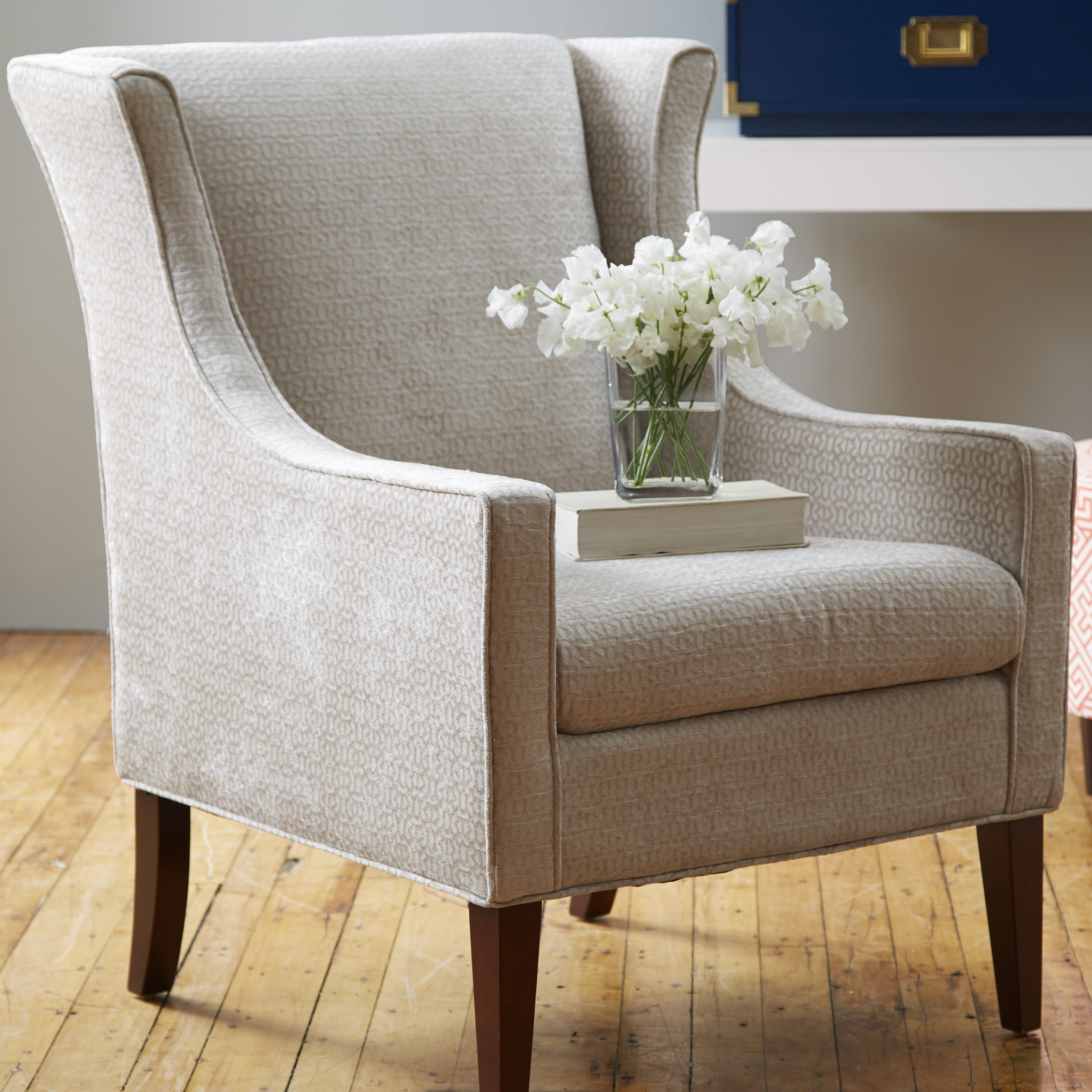Peachy Matherville Wingback Chair Pdpeps Interior Chair Design Pdpepsorg
