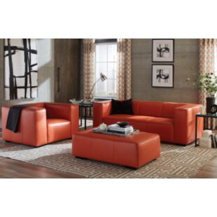 Burnt Orange Living Room Set | Wayfair
