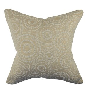 Circle Link Dotted Throw Pillow