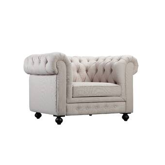 Darby Home Co Dolores Chesterfield Chair Wayfair