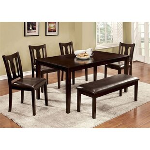 Delancey 6 Piece Extendable Dining Set