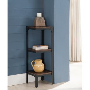 3 Tier Corner Bookcase by InRoom Designs