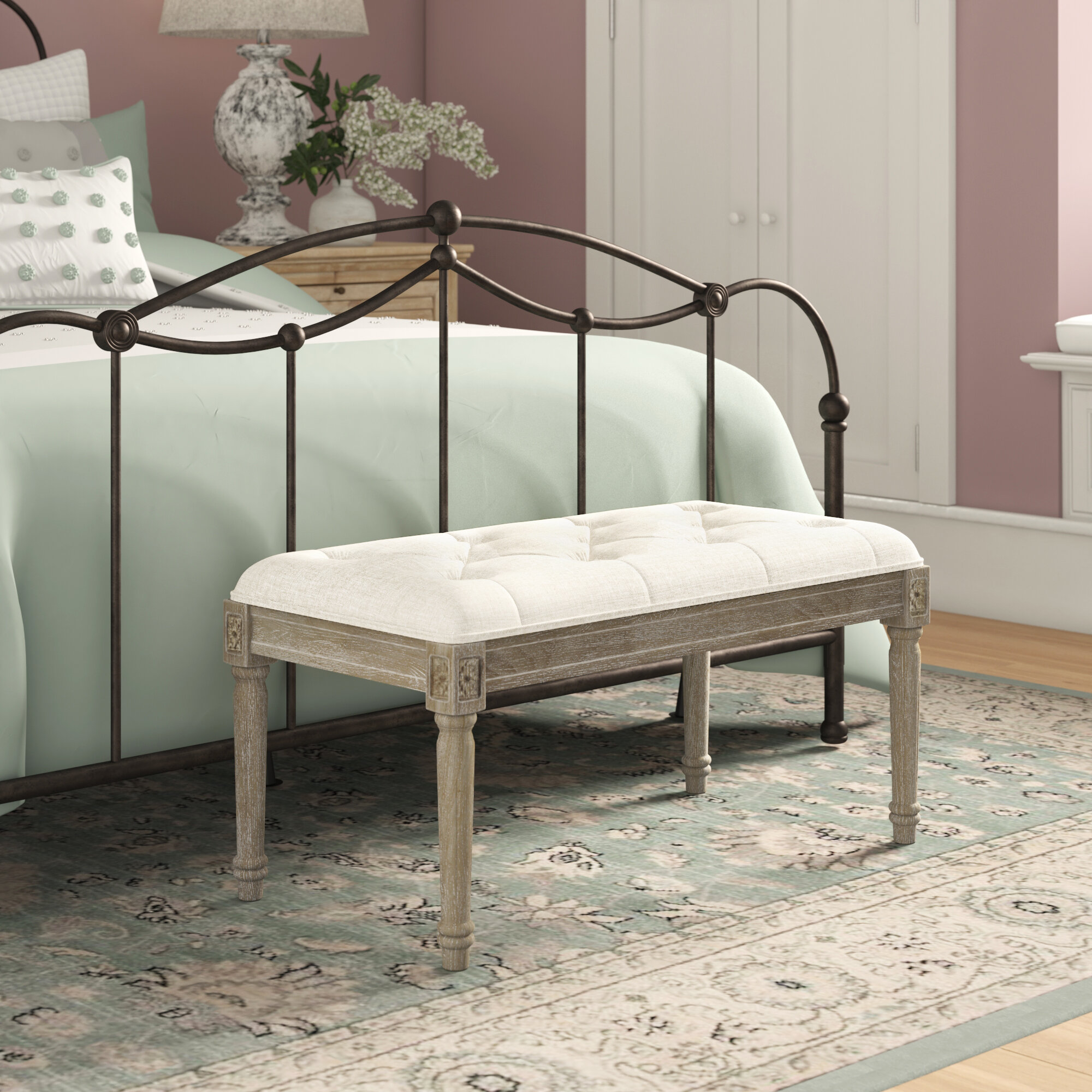 Upholstered Ophelia Co Benches You Ll Love In 2021 Wayfair