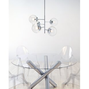 Brayden Studio Herzig 5-Light Sputnik Chandelier