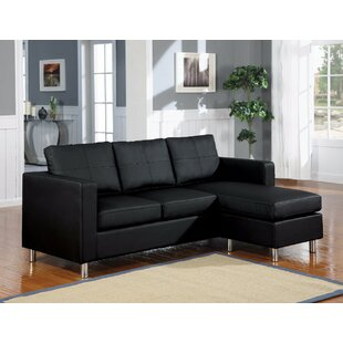 Deimel Reversible Sectional with Ottoman