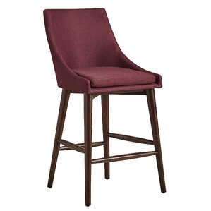 Blaisdell Counter Height Arm Chair (Set of 2) by Mercury Row