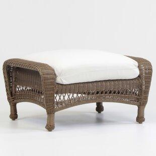 Savannah Ottoman with Cushion by South Sea Rattan