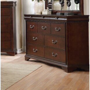Darby Home Co Fenwick Landing 3 Drawer Double Dresser