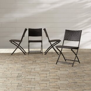 Mercury Row Kapteyn Folding Patio Dining Chair (Set of 4)