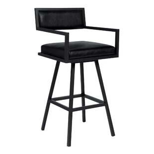 Affordable Latrobe 26 Swivel Bar Stool by Wrought Studio Reviews (2019) & Buyer's Guide