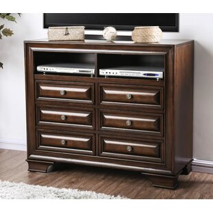 Canora Grey Crowborough 6 Drawer Media Chest