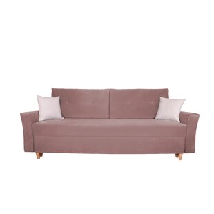 Sagar 3 Seater Clic Clac Sofa Bed By 17 Stories