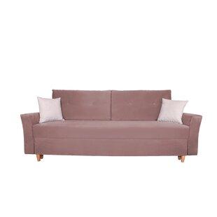 Sagar 3 Seater Clic Clac Sofa Bed By 17 Stories